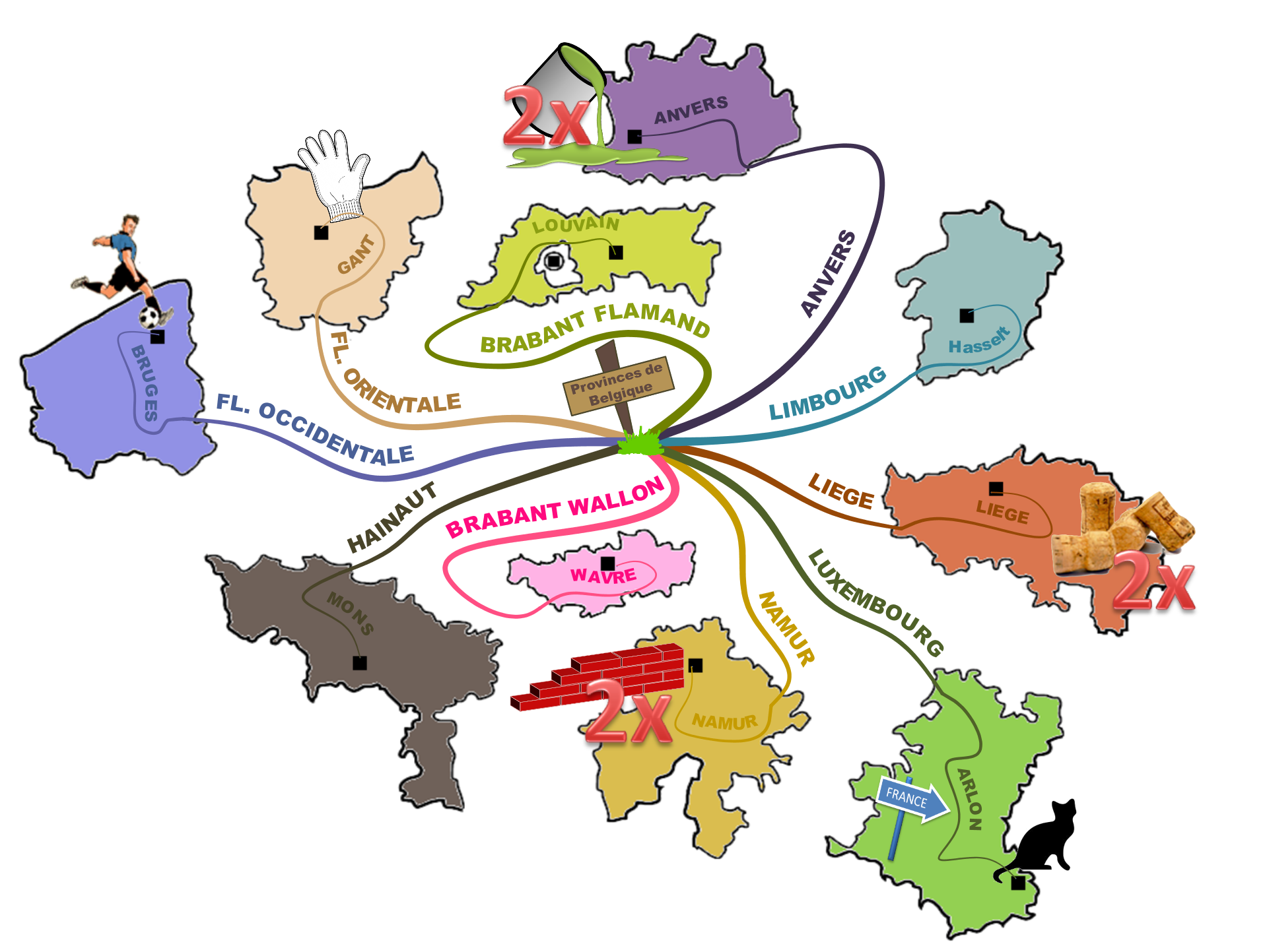 The Geography of Belgium
